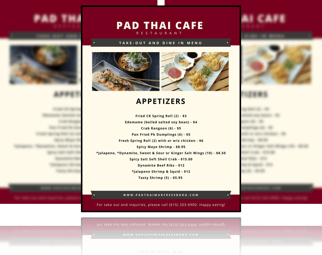 Pad Thai Cafe   The Best Food In Murfreesboro!